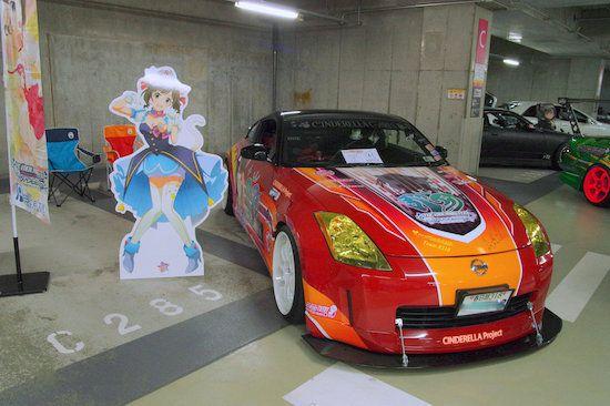 Cinderella-Car-Club meeting 秋葉原UDX アイマス 痛車 オフ