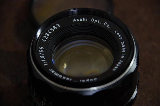 asahi super-takumar 55mm f1.8
