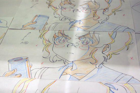 ばくおん!!  原画展 秋葉原 UDX 東京アニメセンター