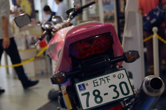 ばくおん!! CB400SF SPEC3 原画展 秋葉原 UDX 東京アニメセンター