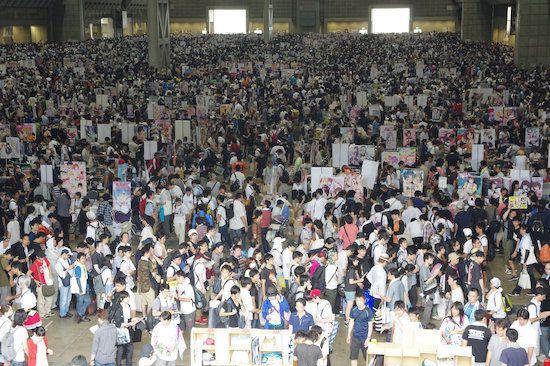 コミックマーケット 2016 C90 人混み