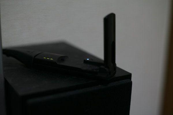 無線LAN子機 5Ghz帯対応方法