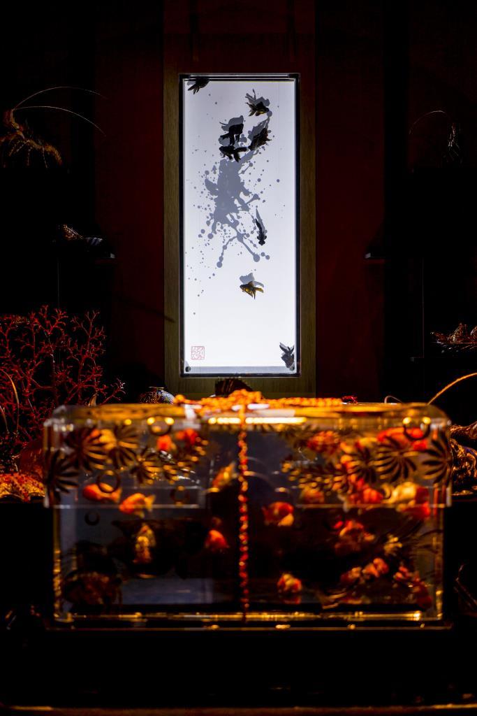 アートアクアリウム 2017 東京 高画質 写真