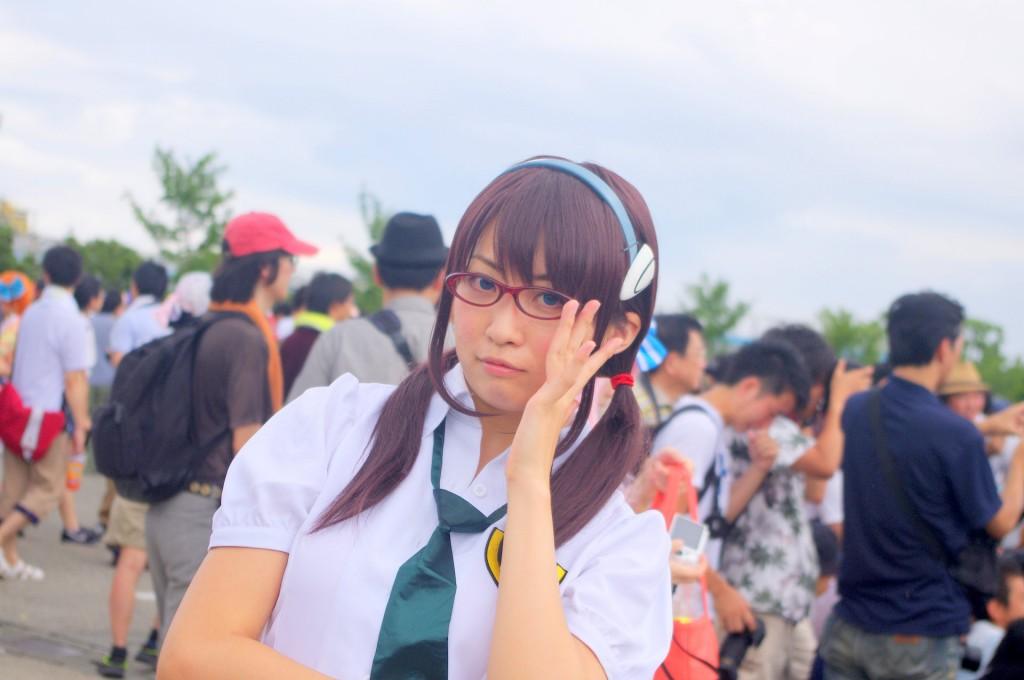 コミックマーケット 88 コスプレ 真希波マリ