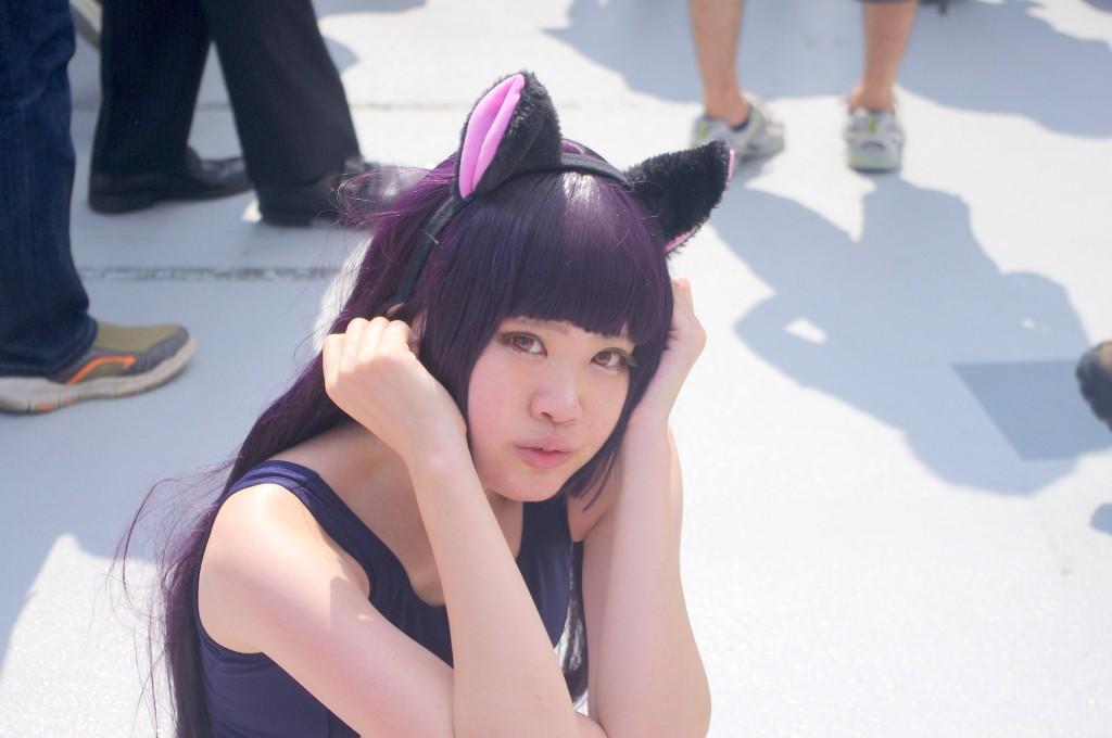 コミックマーケット 88 コスプレ 黒猫