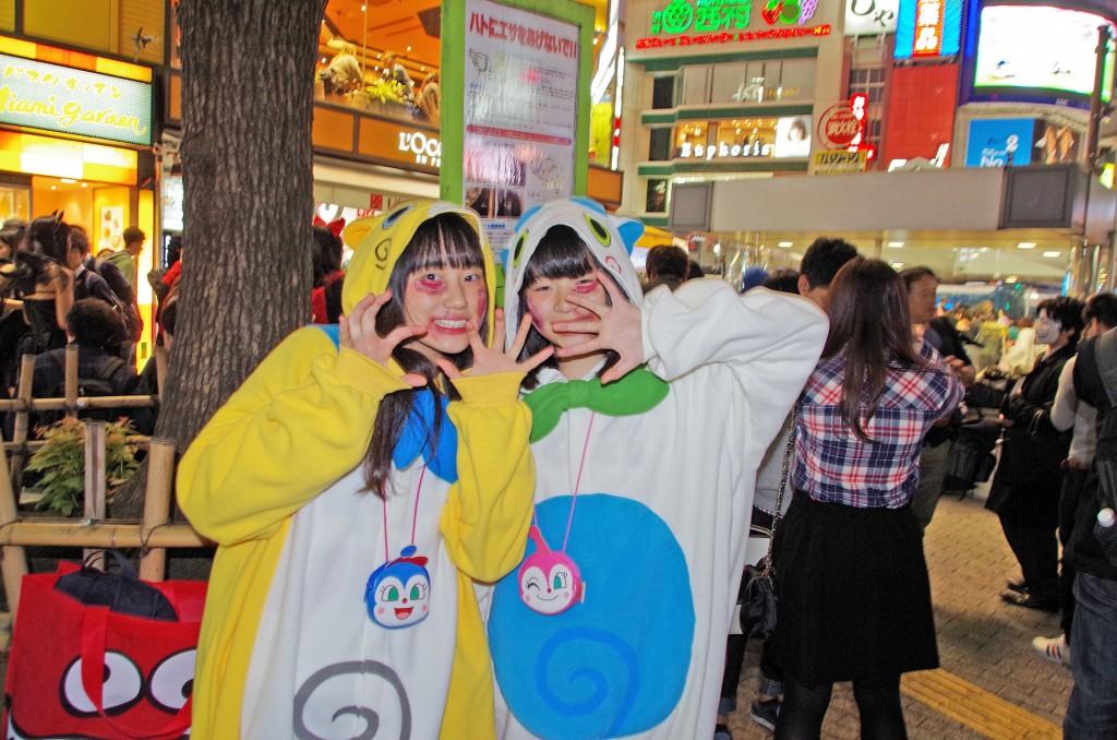渋谷 ハロウィン じばにゃん?
