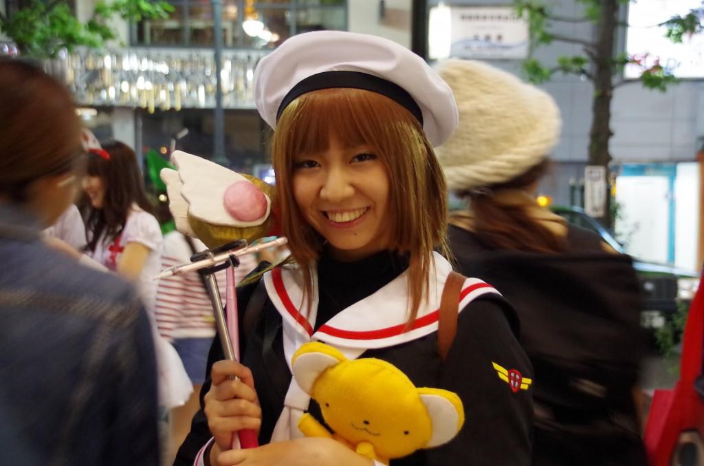 渋谷 ハロウィン カードキャプターさくら