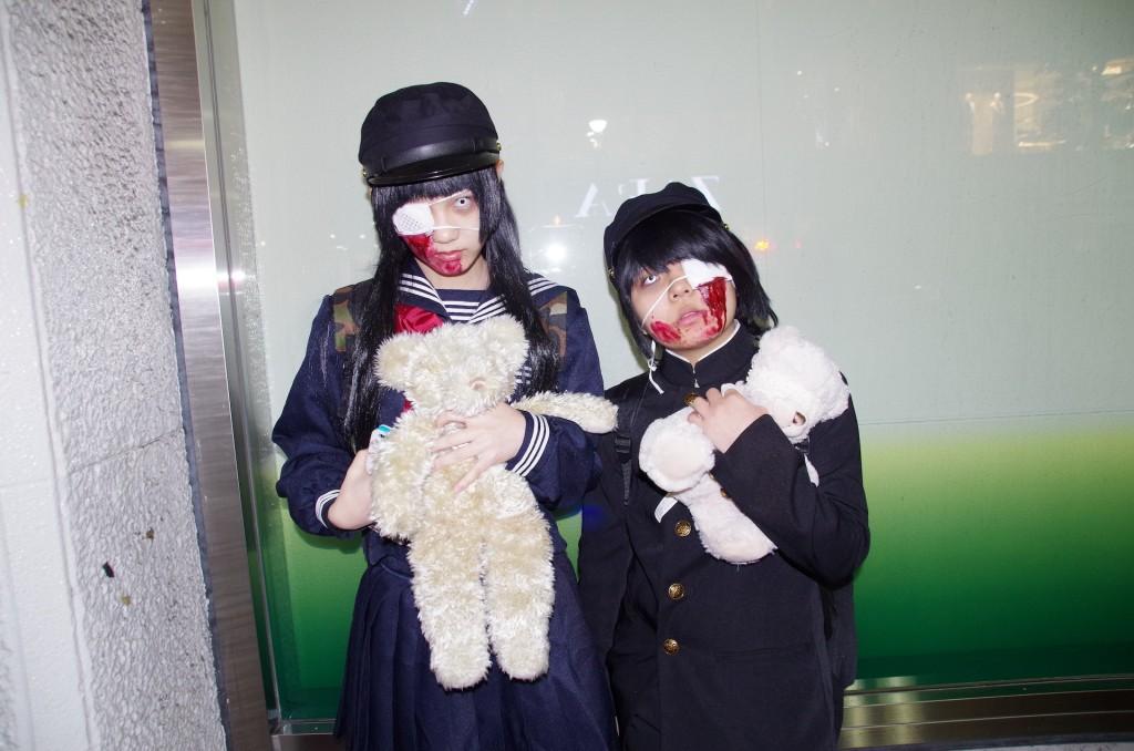 渋谷 ハロウィン ゾンビ