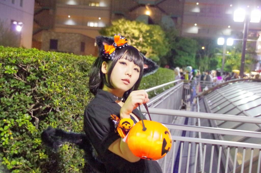 池袋ハロウィン コスプレ かぼちゃねこ