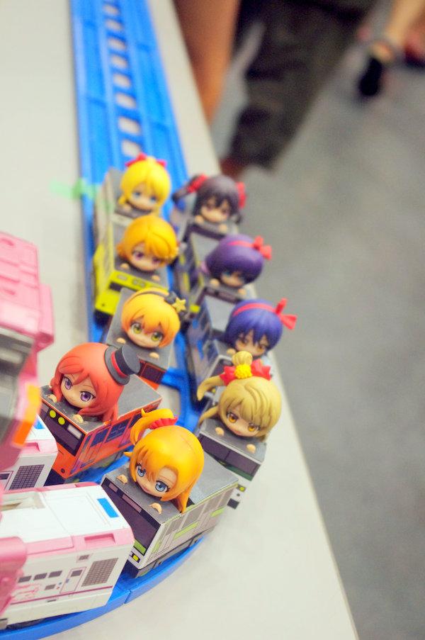 アキバ大好き!祭り ラブライブ 列車