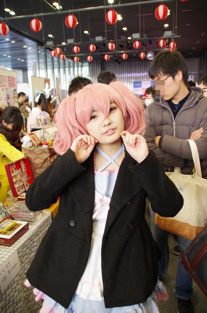 アキバ大好き!祭り ピンクの人