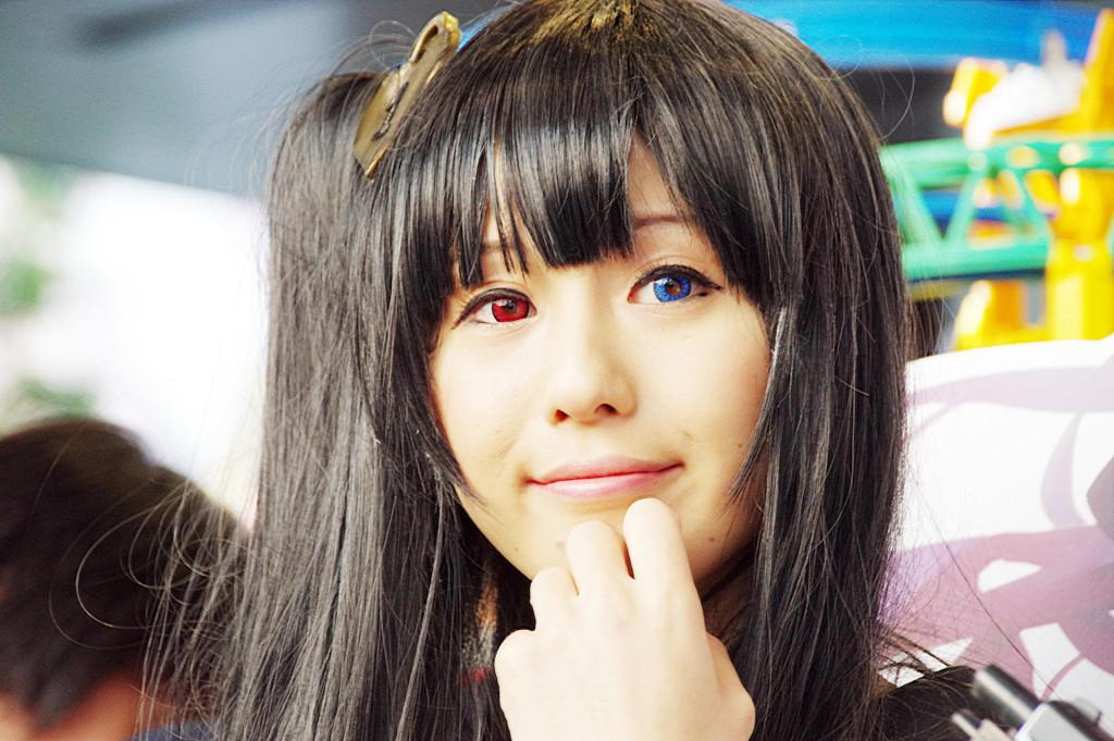 アキバ大好き!祭り 黒髪ロング