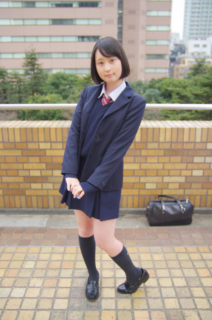 アコスタ2016/3/6 コスプレ撮影 制服