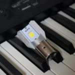 YBR125用 LEDヘッドライト 9ヶ月使用した感想【1000円以下!】