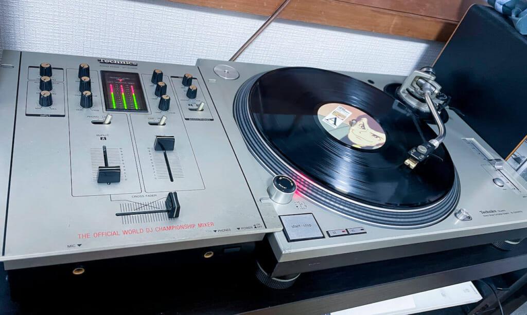 Technics sl-1200 mk3d