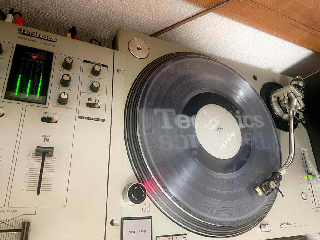宇多田ヒカル ONE LAST KISS Technics sl-1200 mk3d